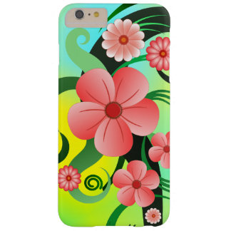 Tropical Hibiscus Floral Slim iPhone 6 6S Plus Barely There iPhone 6 Plus Case