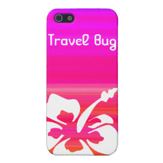 Tropical Hibiscus flower iPhone Pink Red Purple iPhone 5 Cover