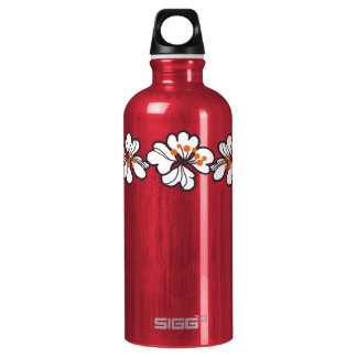 Tropical Hibiscus Flowers SIGG Traveler 0.6L Water Bottle