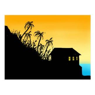 Tropical Hideaway Postcard