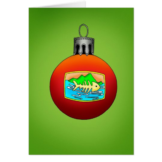 Tropical Holiday Greeting Card! Card