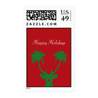Tropical Holiday Postage Stamp