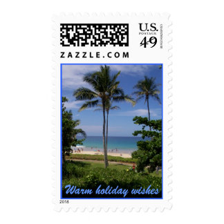 Tropical Holiday Postage