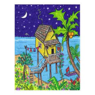 Tropical Holiday Postcard