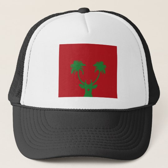Tropical Holiday Trucker Hat