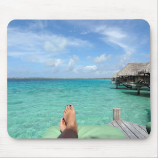 Tropical Honeymoon Mouse Pad