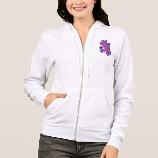 Tropical Honu Turtles And Hibiscus Flowers Hoodie