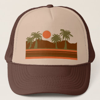 tropical horizon hat