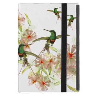 Tropical Hummingbird Birds Flowers iPad Mini Case