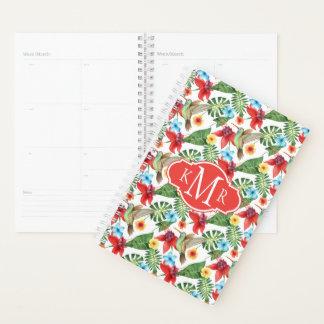 Tropical Hummingbird | Monogram Planner