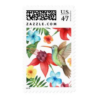 Tropical Hummingbird Postage