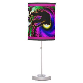 Tropical Hurricane Eye Skateboard ANY COLOR BCKGND Desk Lamp