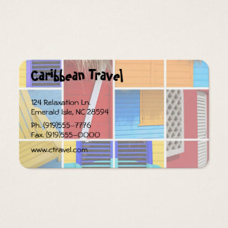 Tropical Huts Business Card