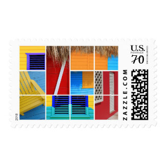 Tropical Huts Postage