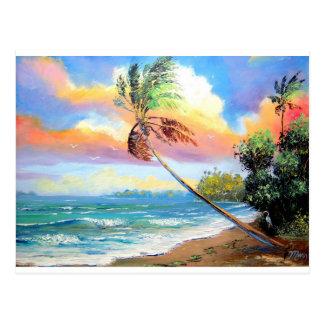 Tropical Inlet Bay Postcard