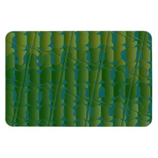 Tropical Inspired Pattern Vinyl Magnet