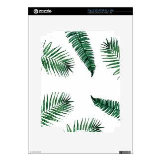 tropical iPad 2 decals
