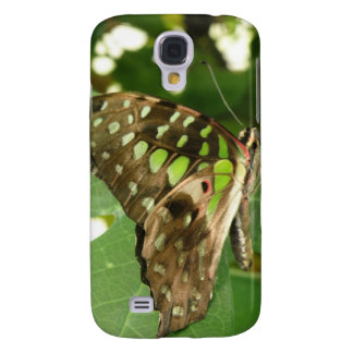 Tropical Iridescent Green Butterfly HTC Case