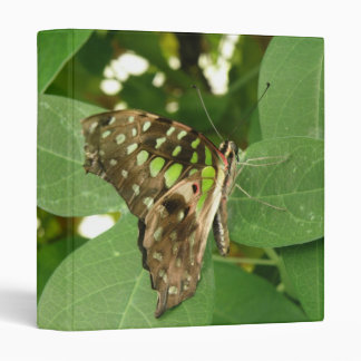 Tropical Iridescent Green Butterfly Photo Album Binder