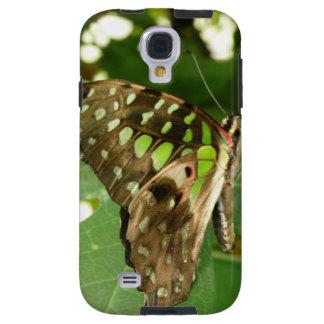 Tropical Iridescent Green Butterfly Samsung Case