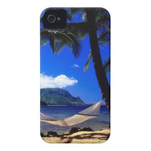 Tropical Island Afternoon Nap Kauai Hawaii iPhone 4 Case-Mate Cases