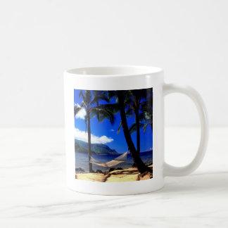 Tropical Island Afternoon Nap Kauai Hawaii Classic White Coffee Mug