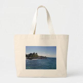 Tropical Island Canvas Bag