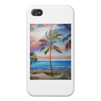 Tropical Island Beach iPhone 4 Case
