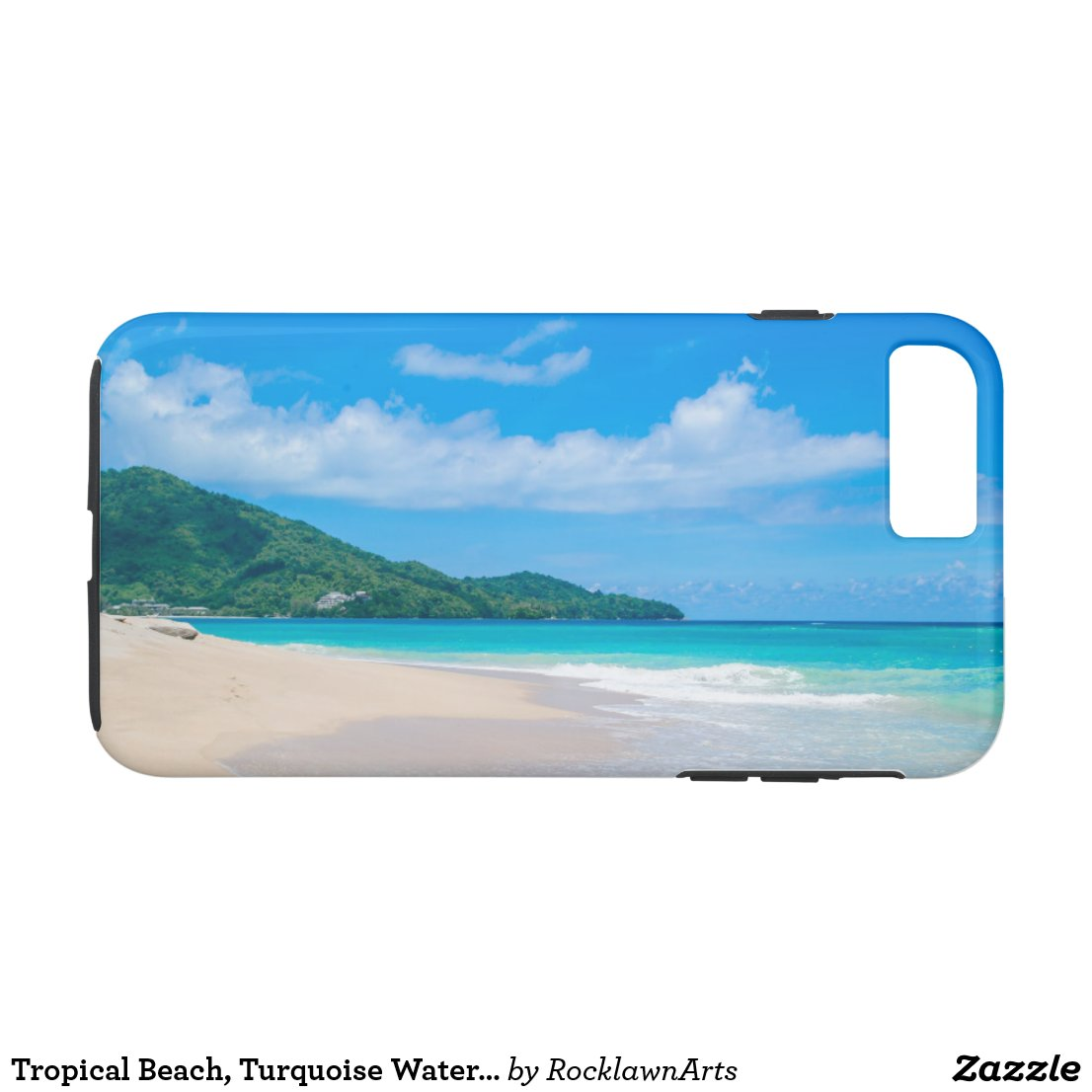 Tropical Island Beach Turquoise Water iPhone 8 Plus/7 Plus Case
