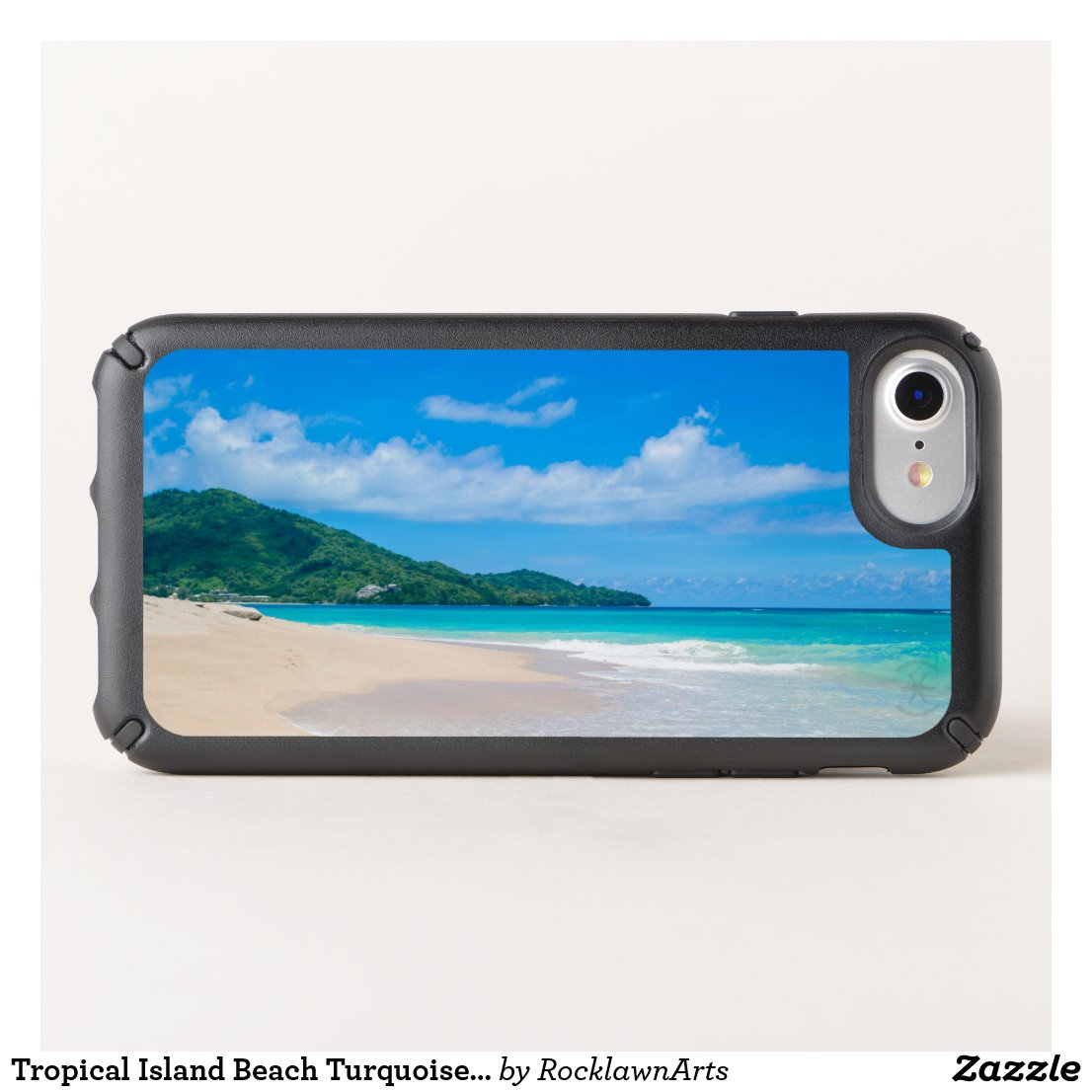 Tropical Island Beach Turquoise Water Speck iPhone Case
