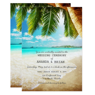 Tropical Wedding Invitations Amp Announcements