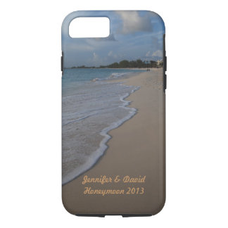 Tropical Island Beach Wedding iPhone 7 Case
