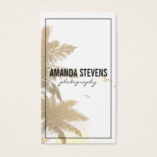 Tropical Island Business Card