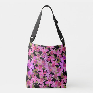 Tropical Island Cattleya Orchid Flowers Floral Bag