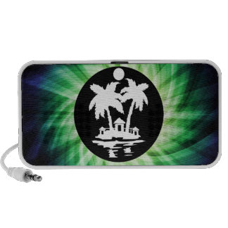 Tropical Island Cool Gift Portable Speakers