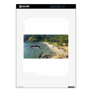 tropical island decals for iPad 2