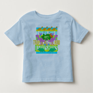 Tropical Island Dinosaurs Toddler T-shirt