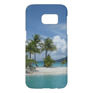 Tropical island dreaming phone case