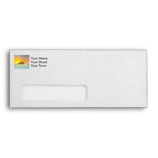 Tropical island envelope