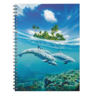 Tropical Island Fantasy Notebook