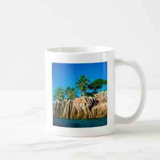 Tropical Island Found Seychelles Coffee Mug