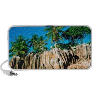 Tropical Island Found Seychelles Speaker System