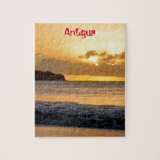Tropical island in Antigua Jigsaw Puzzle