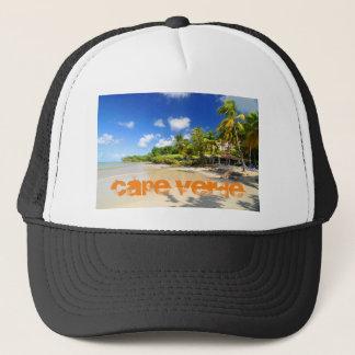 Tropical island in Cape Verde Trucker Hat