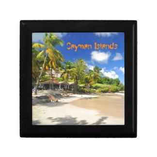 Tropical island in Cayman Islands Gift Box
