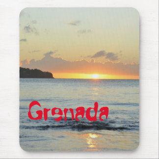 Tropical island in Grenada Mouse Pad