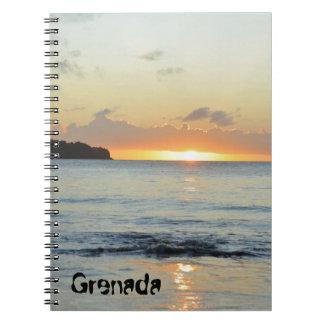 Tropical island in Grenada Notebook