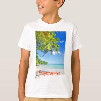 Tropical island in Seychelles T-Shirt