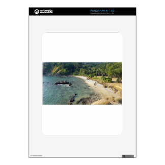 tropical island iPad skin