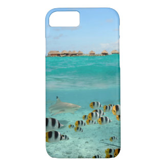 Tropical island iPhone 7 case